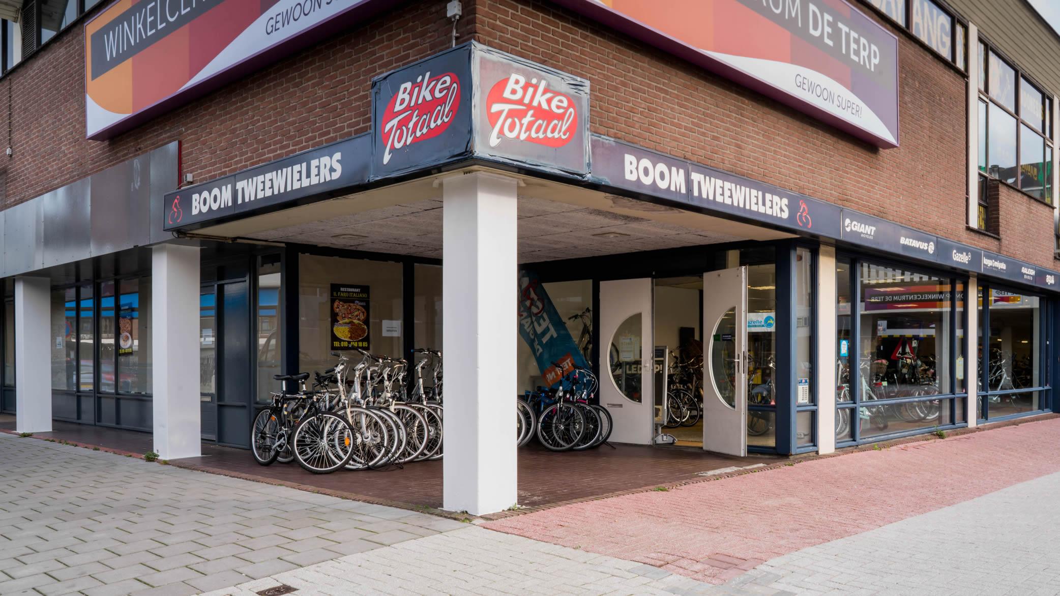Winkelcentrum de Terp   Feestelijke heropening Boom Tweewielers